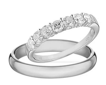 Diamantové snubní prsteny